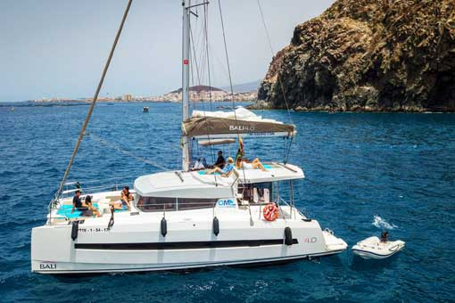 Be a sailor for a week from Tenerife